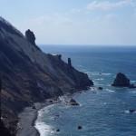 祝津パノラマ展望台から望む日本海