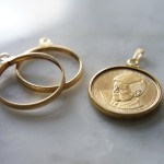 14KGFゴールドフィルド-コイン用空枠-ペンダント