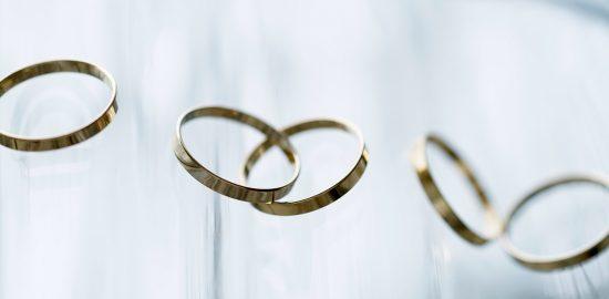 14KGFリングパーツ フラットリング K14GF指輪