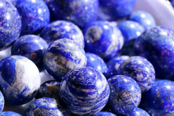 9月と12月の誕生石 ラピスラズリ ラピス lapis lazuli 瑠璃 天然石 ビーズ 宝石 ルース パワーストーン