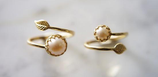 leaf-design-brass-ring