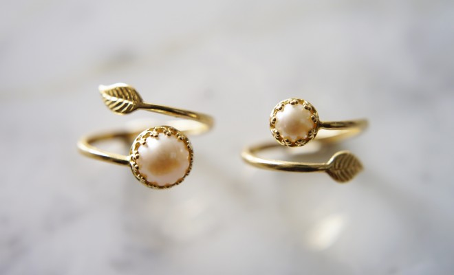 leaf-design-brass-ring